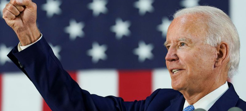 Democratic U.S. presidential candidate Biden holds a campaign event in Wilmington, Delaware. (photo: Reuters)