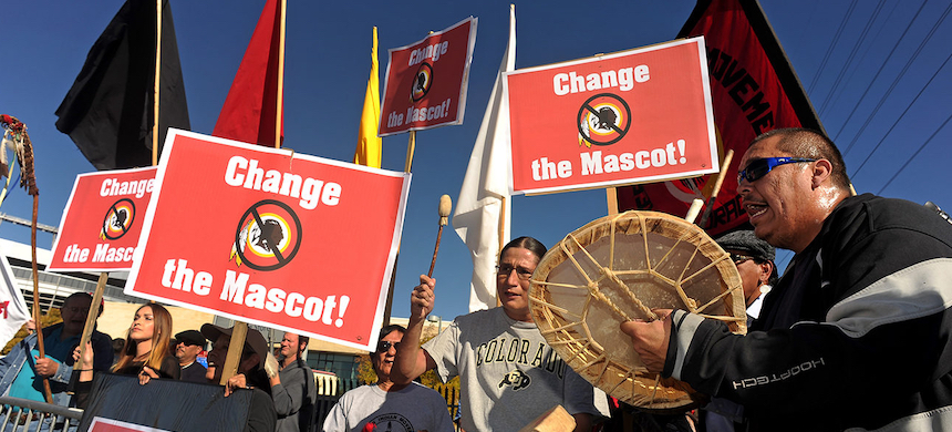 The fight to change the Washington Redskins' name has been going on for years. (photo: Getty Images)