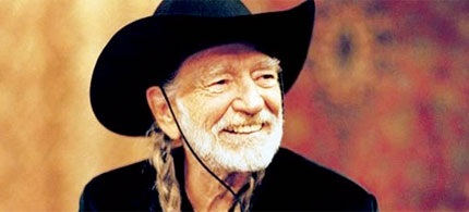 Singer, songwriter, American poet, Willie Nelson, 05/08/08. (photo: Unknown)