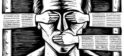 Internet censorship, 06/15/09. (photo: The Inquistir)