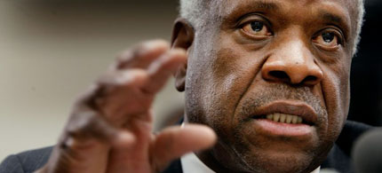 U.S. Supreme Court Justice Clarence Thomas. (photo: Getty Images)