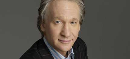 Portrait, Bill Maher, 10/15/09. (photo: HBO)