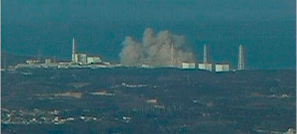 A large explosion has occurred at the Fukushima-Dalichi nuclear power plant in Japan, 03/12/11. (photo: AP)