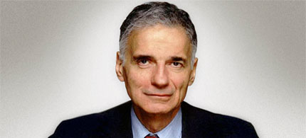 Ralph Nader. (photo: TruthAlliance)