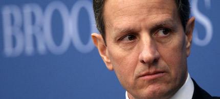 U.S. Secretary of the Treasury Timothy Geithner, 02/11/11. (photo: Getty Images)