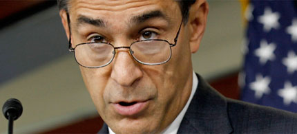 House Oversight and Government Reform Committee Chairman Darrell Issa, 05/28/10. (photo: Alex Wong/Getty Images)