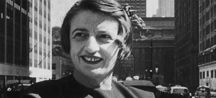 Author and Objectivist philosopher Ayn Rand. (photo: Hulton Archive/NYT/Getty Images)