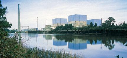 Response was delayed to an Alert at Brunswick nuclear plant in Southport, NC, because workers didn't know how to operate the emergency computer systems. (photo: Progress Energy/US NRC)