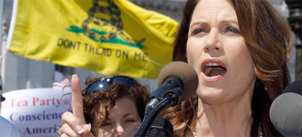 Michele Bachmann touted Minnesota's 'long and proud tradition of gun ownership.' (photo: AP)