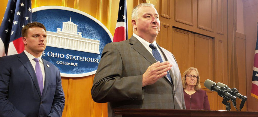 The FBI has charged Republican speaker of the Ohio house of representatives Larry Householder with taking  million in bribes. (photo: Columbus Dispatch)