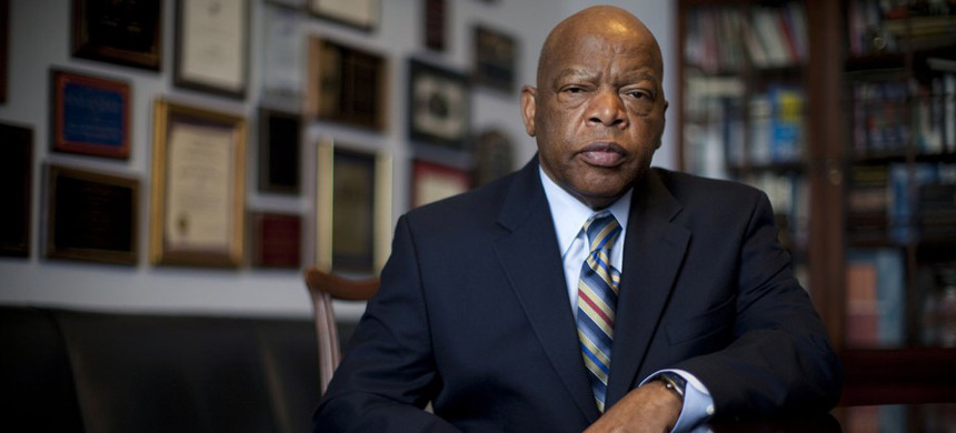 Former Rep. John Lewis. (photo: Jeff Hutchens/Getty)