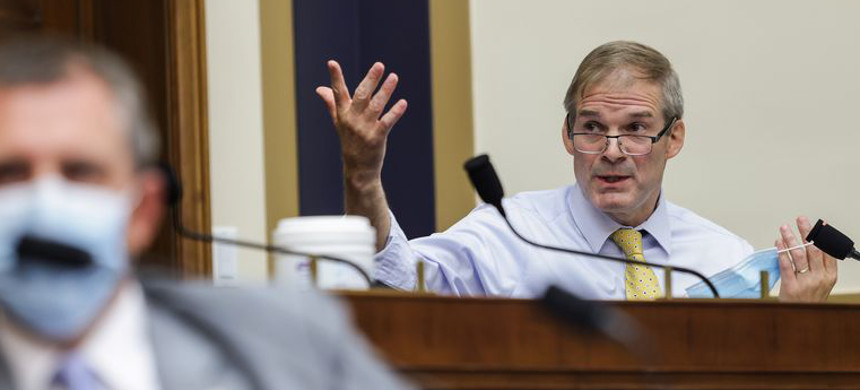 Republican Jim Jordan. (photo: Getty)