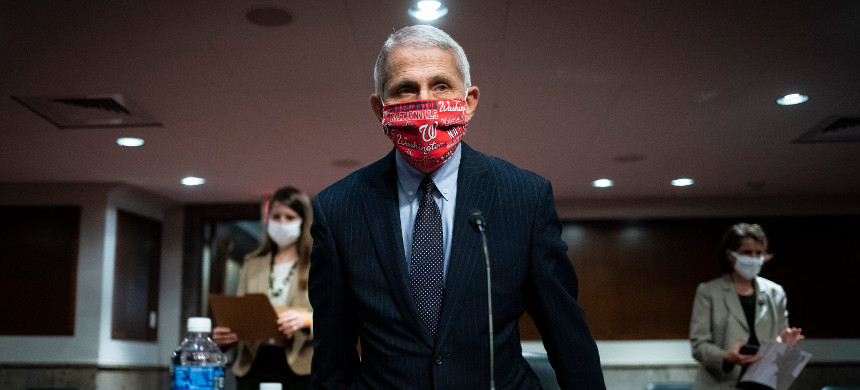 Dr. Anthony Fauci, director of the National Institute of Allergy and Infectious Disease. (photo: Al Drago/AP)