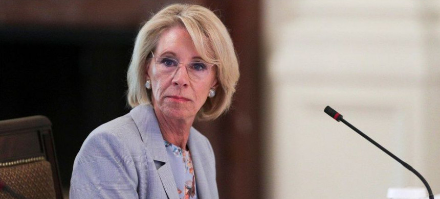 Education Secretary Betsy DeVos. (photo: Getty)