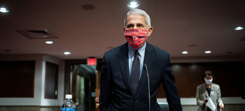 Dr. Anthony Fauci in Washington DC on 30 June. (photo: Reuters)