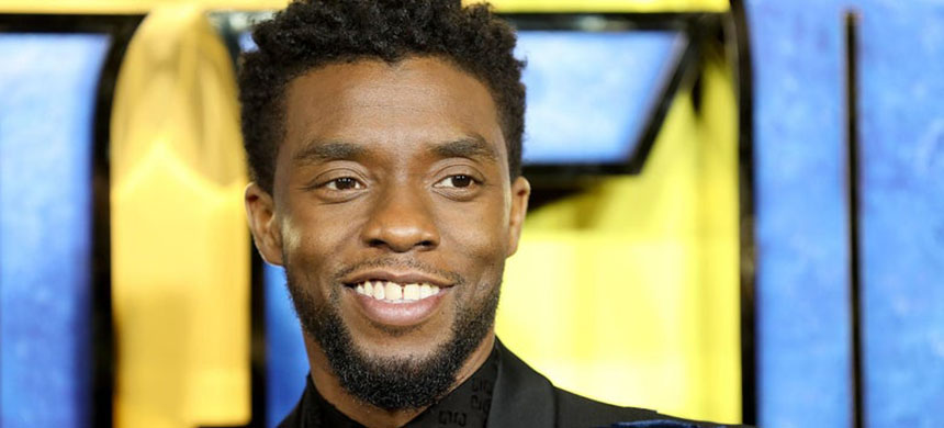 Chadwick Boseman at the European premiere of Black Panther in 2018. (photo: Tim P. Whitby/Getty Images)