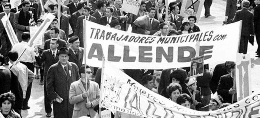 'What really changed for Chile's revolutionary left was Allende's election, because suddenly it opened up the possibility for effervescent grassroots social struggle.' (photo: Getty)