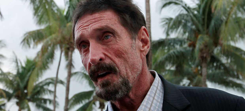 Computer software pioneer John McAfee, 75, has allegedly hid assets including real estate property, a vehicle and a yacht. (photo: Joe Skipper/Reuters)