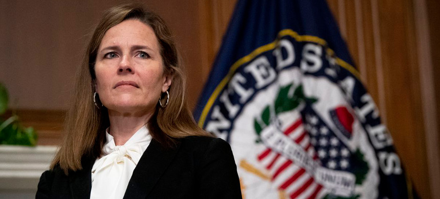 Supreme Court nominee Amy Coney Barrett. (photo: Caroline Brehman/AP)