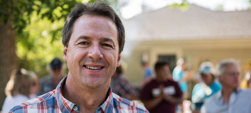 Montana governor Steve Bullock. (photo: William Campbell/Getty)