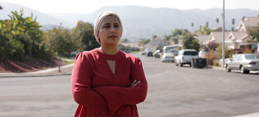 Urooj Alavi, an ICU nurse, worries that her husband will soon be deported. (photo: Wey Wang/ACLU)