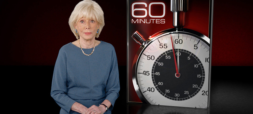 Lesley Stahl, a '60 Minutes' correspondent since 1991, calmly and firmly asked the president about the coronavirus and other topics, and he grew increasingly irritated. (photo: CBS News)