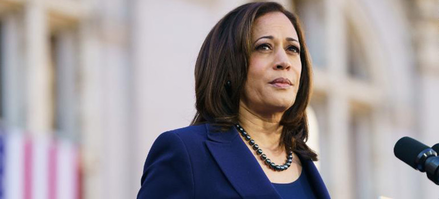 Vice-president-elect Kamala Harris. (photo: Mason Trinca/Getty)