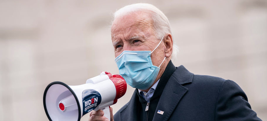 Even before becoming president-elect, Joe Biden has been working on a coordinated, national plan for fighting the coronavirus. (photo: Drew Angerer/Getty Images)