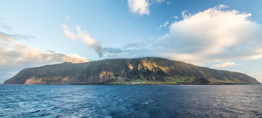 The island of Tristan da Cunha. (photo: Victoria J. Strokes/Getty)