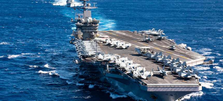 USS Theodore Roosevelt Aircraft Carrier. (photo: US Navy)