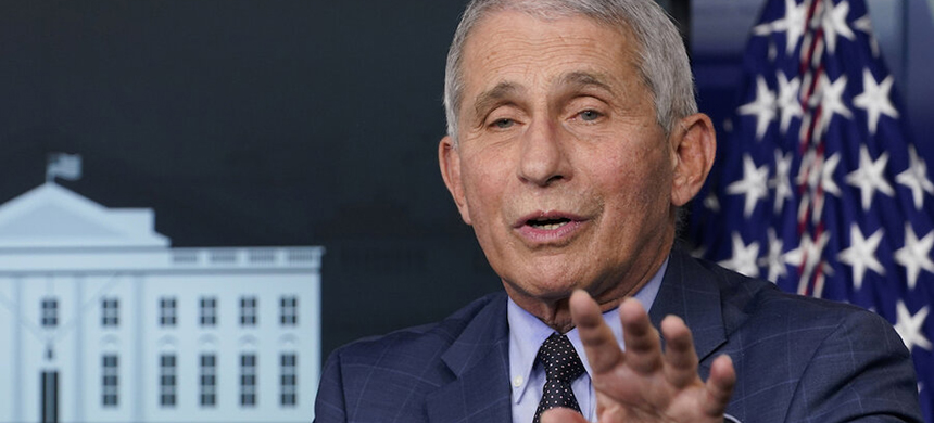 Dr. Anthony Fauci. (photo: Susan Walsh/AP)