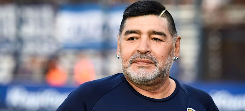 Diego Maradona. (photo: Sky Sports)