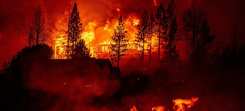 A wildfire in California. (photo: Getty Images)