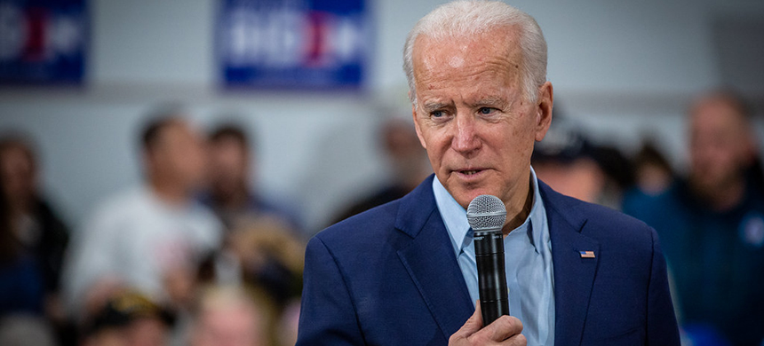 Joe Biden at a campaign event. (photo: Phil Roeder/Flickr)