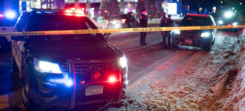Police in Minneapolis shot and killed a man during a traffic stop on the city's south side Wednesday night. (photo: Jeff Wheeler/Star Tribune/AP)