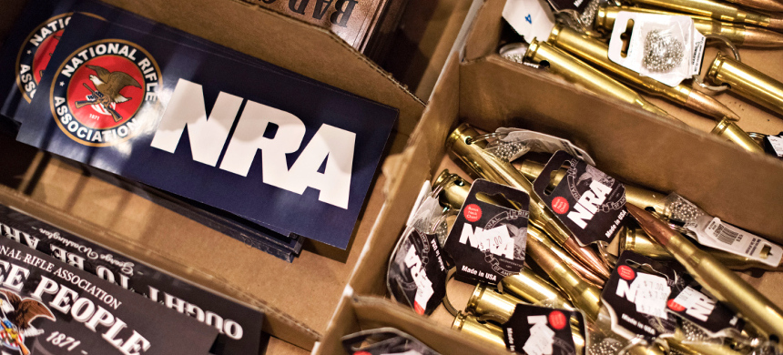 The NRA's lobbyists and political allies have fought for permissive state gun laws, turning Florida in particular into the 'Gunshine State.' (photo: Daniel Acker/Getty)