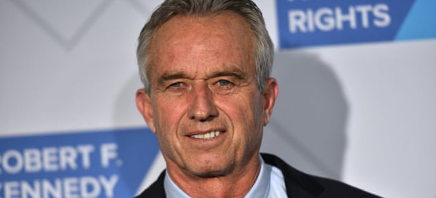 Robert F. Kennedy Jr. has been criticized by members of his family for spreading false information about vaccines. (photo: Erik Pendzich/Shutterstock)