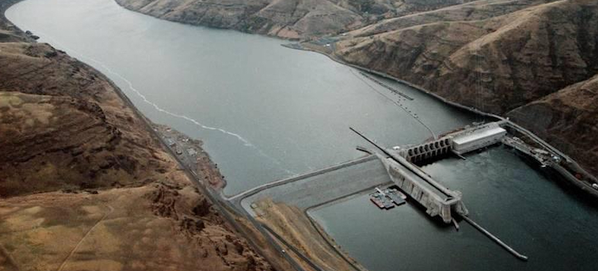 Lower Granite Dam. (photo: Darin Oswald/Idaho Statesman)