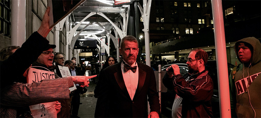Erik Prince arrives for the New York Young Republican Club Gala at The Yale Club of New York City in Manhattan in New York City, New York, U.S., November 7, 2019. (photo: Jeenah Moon/Reuters)