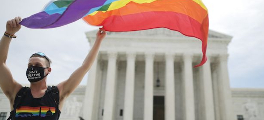 The U.S. Supreme Court ruled in June that civil-rights laws prohibiting workplace discrimination based on gender also apply to gender identity and sexual orientation. (photo: Chip Somodevilla/Getty Images)