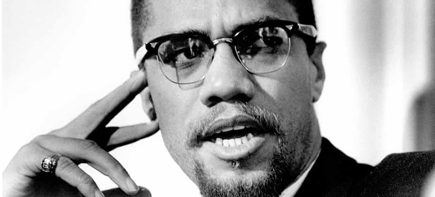 Malcolm X in 1965. (photo: Michael Ochs Archives/Getty Images)