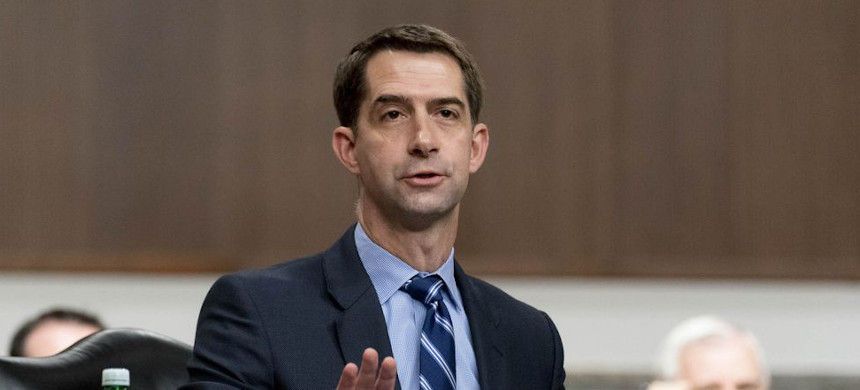 Sen. Tom Cotton. (photo: Andrew Harnik/Getty)