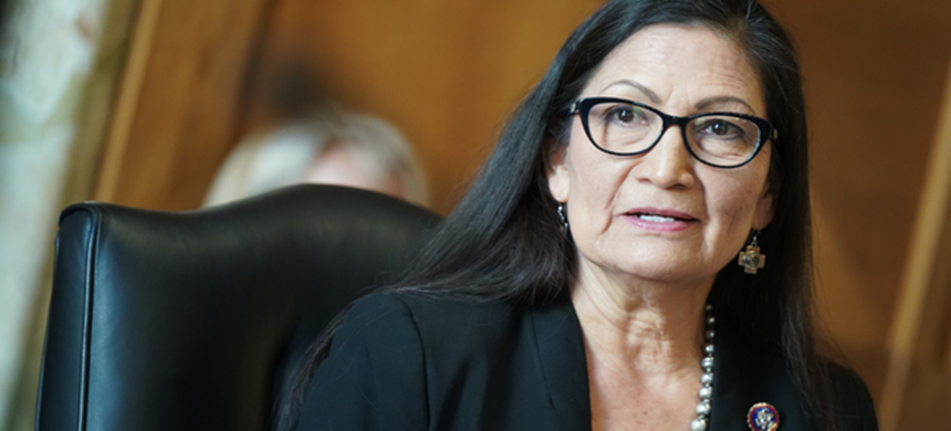 Deb Haaland. (photo: Leigh Vogel/Getty Images)