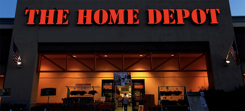 The logo of Home Depot is seen in Encinitas, California, April 4, 2016. (photo: Mike Blake/Reuters)