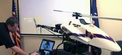 Police in Montgomery County, Texas, have puchased an unmanned drone. (photo: KPRC Local 2)