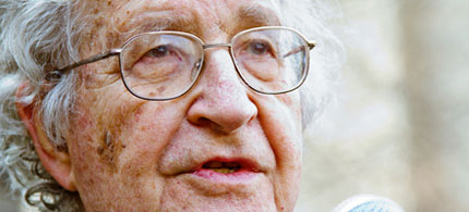 Noam Chomsky was awarded the Sydney Peace Prize. (photo: Ben Rusk/flickr)