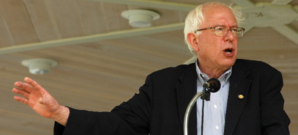 Bernie Sanders, 08/20/11. (photo: DownWithTyranny)