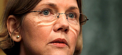 Democratic candidate for the Massachusetts Senate Elizabeth Warren. (photo: Alex Wong/Getty Images)