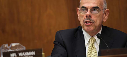 Rep. Henry A. Waxman held hearings on waste and fraud in Iraq when he headed the House Government Reform Committee. (photo: Alex Wong/Getty Images)
