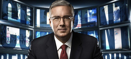 Keith Olbermann's Special Comment on the debt deal, 08/02/11. (photo: Current TV)